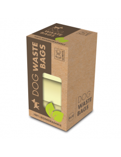 Sacchetti per cani Biodegradabili 6x12 pezzi