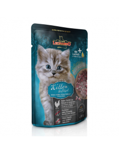 LEONARDO® Kitten Pollame 85gr x 16pz